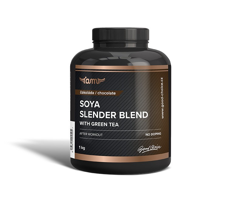 Soya slender blend with green tea čokoláda