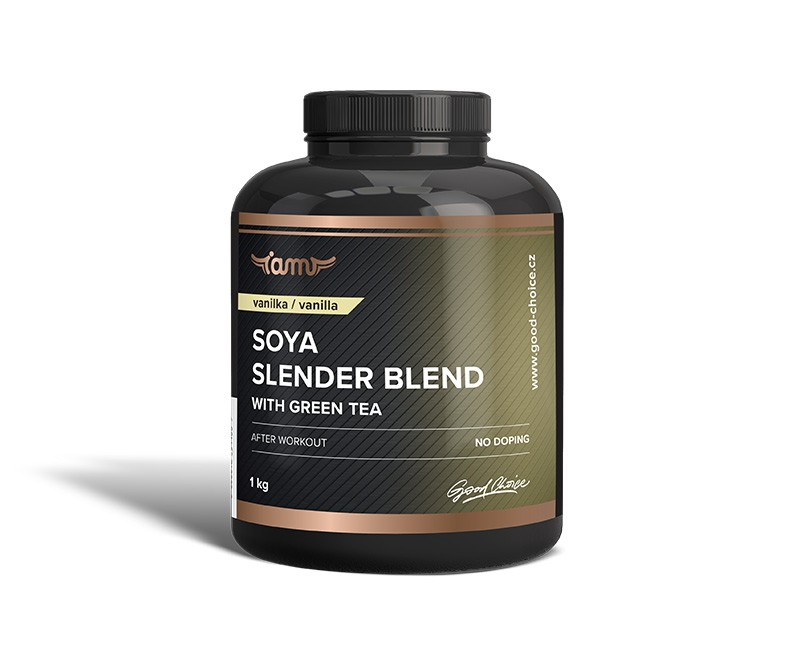 Soya slender blend with green tea vanilka