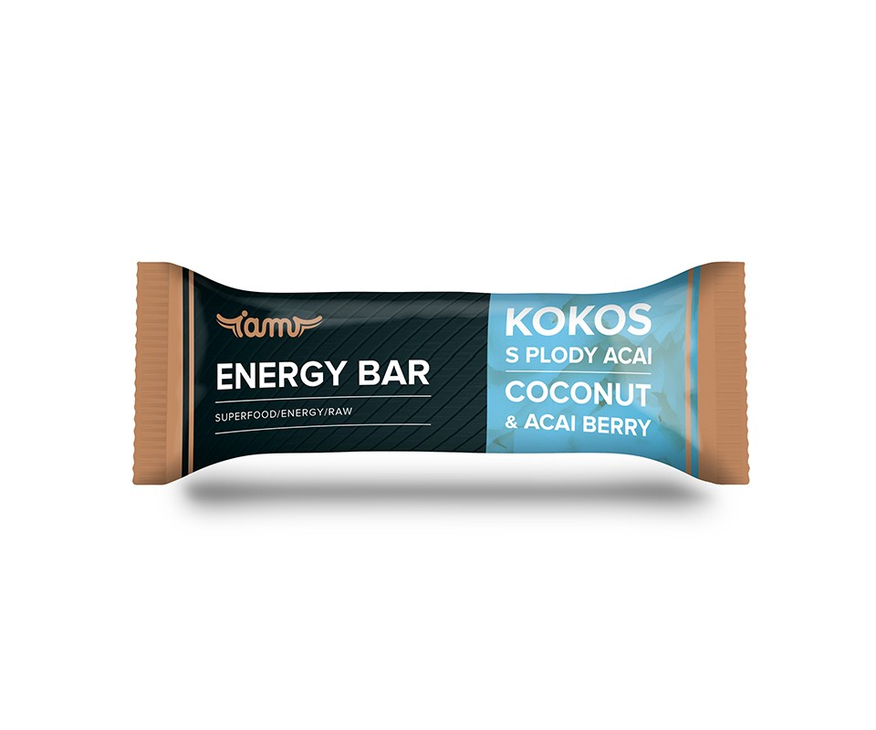 Energy bar - Kokosová s acai