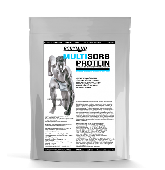 Bodymind - Multisorb Protein II. - Natural